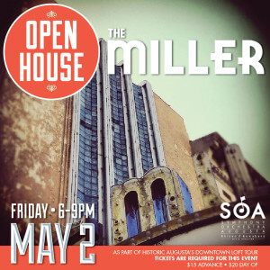 Miller Theater Open House poster