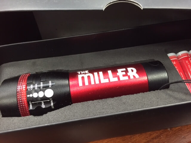Miller Theater Flashlight