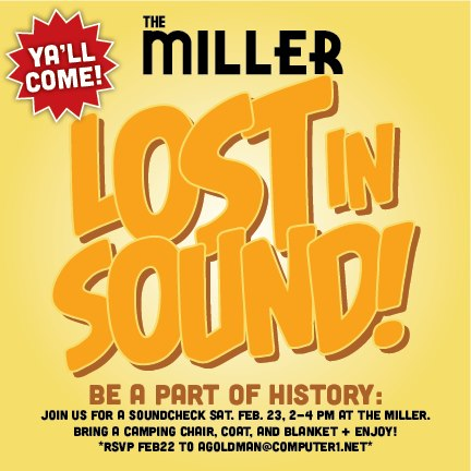 The Miller Lost In Sound Poster